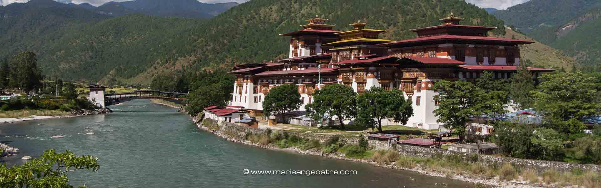 Bhoutan, forteresse de Punakha ©Marie-Ange Ostré
