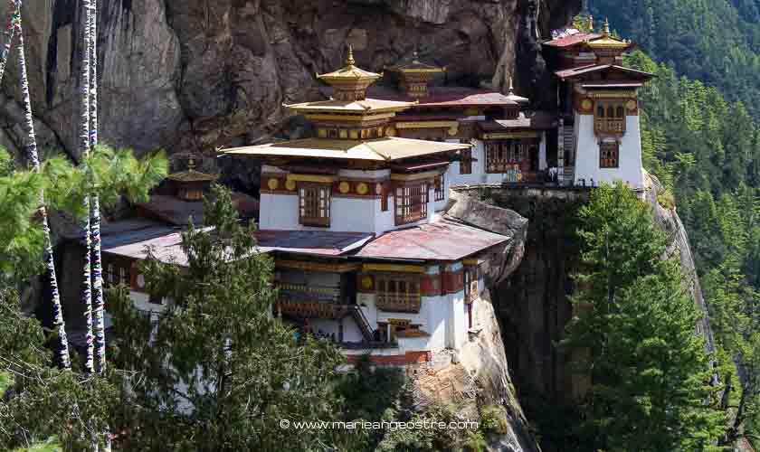 Bhoutan, monastère Taktshang ©Marie-Ange Ostré