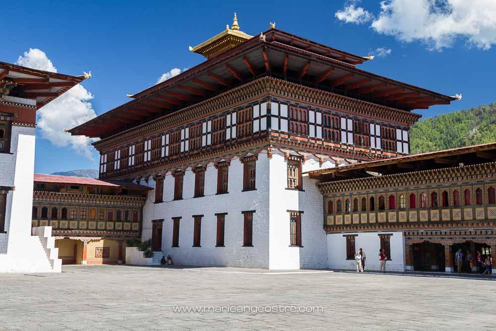 Bhoutan, à l'intérieur de la forteresse © Marie-Ange Ostré